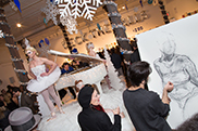 Draw Nude Models at Free TriBeCa Holiday Show