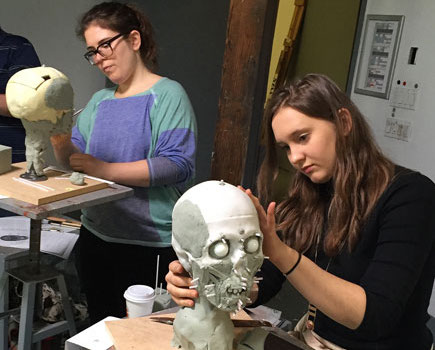 New York Art Students Create 3-D Renderings from Skulls to Help Identify Unknown Murder Victims