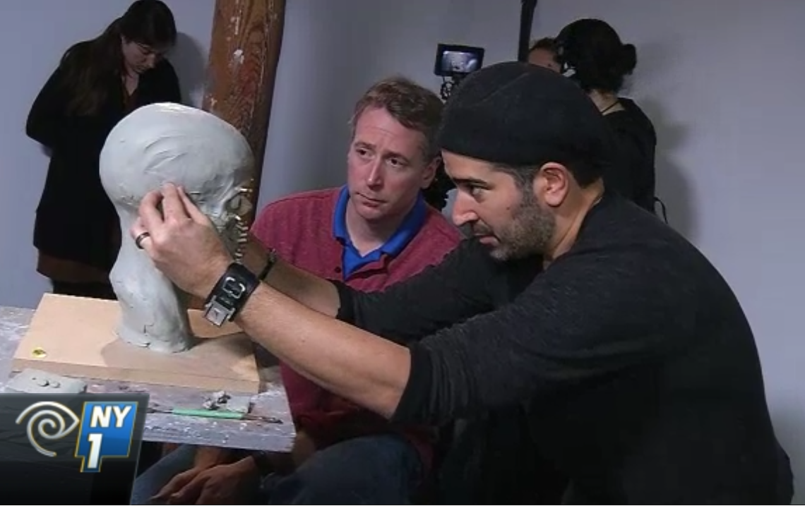 Students Sculpt and Help Solve Crimes at New York Academy of Art Workshop