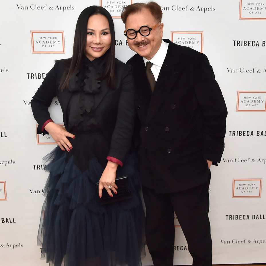 Eva and Michael Chow Honored at TriBeCa Ball