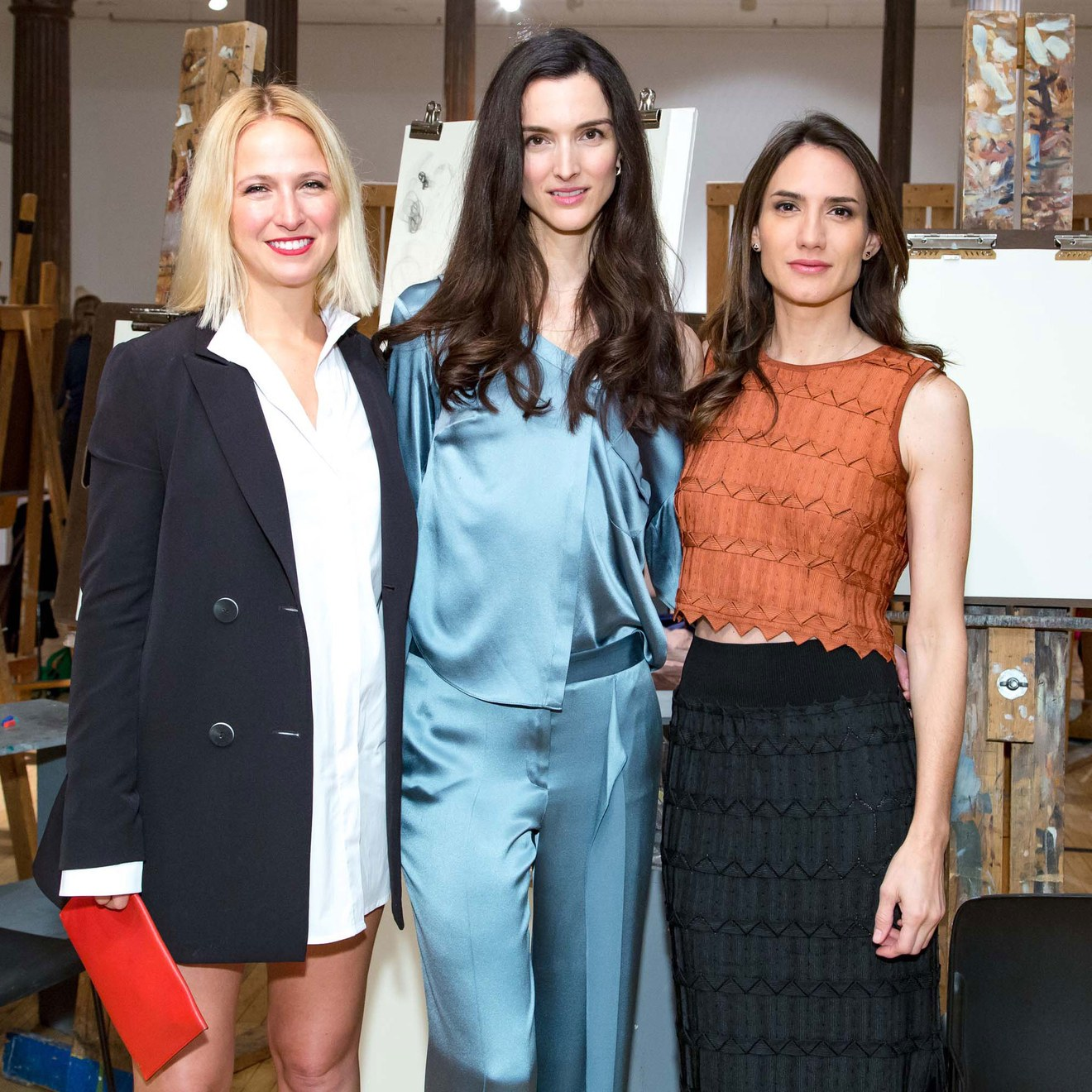 Misha Nonoo and More Attend an Intimate Drawing Party at the New York Academy of Art