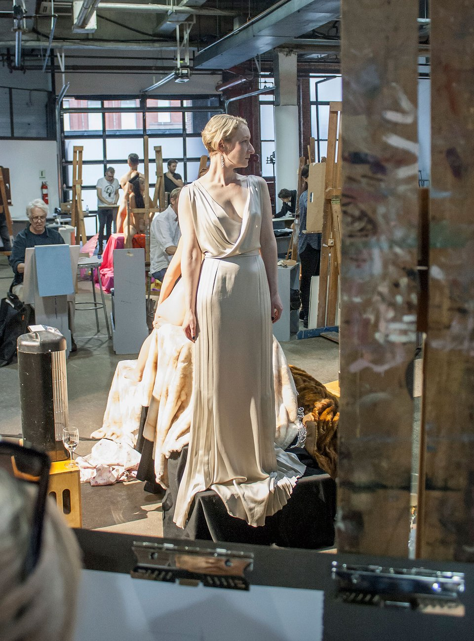 Naked With Clothes On: How It Feels to Be a Drawing Model