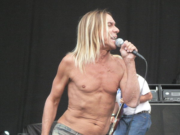 Iggy Pop Stars in Life Drawing Class for Jeremy Deller Project
