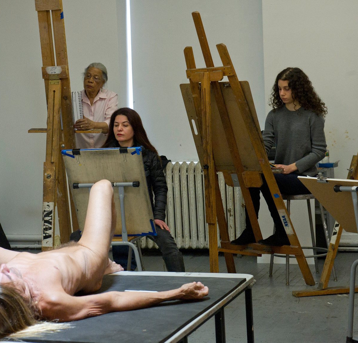 Iggy Pop poses naked for Jeremy Deller exhibition