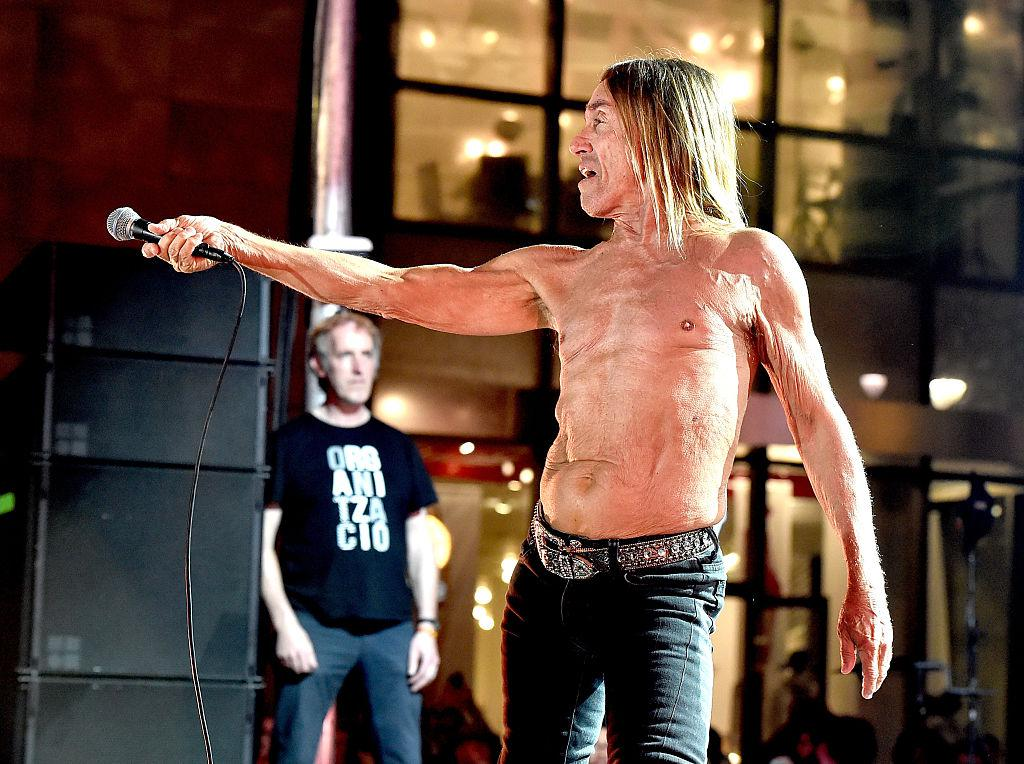 Iggy Pop Posed Nude for a Life Drawing Class