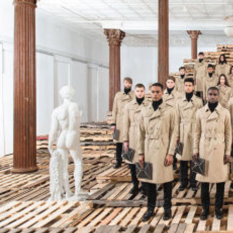 Valentino Presents Its New Collection With a Performance Piece by Artist Vanessa Beecroft