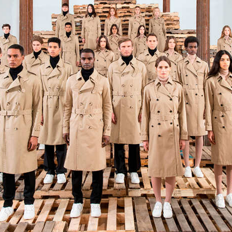 See Valentino's Vanessa Beecroft Collaboration