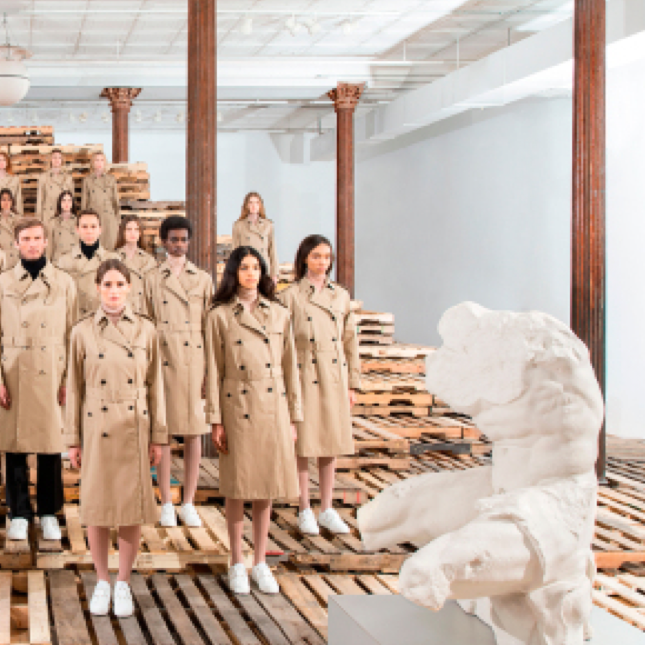 Valentino Collaborates With Vanessa Beecroft on 'Rockstud Untitled' Installation