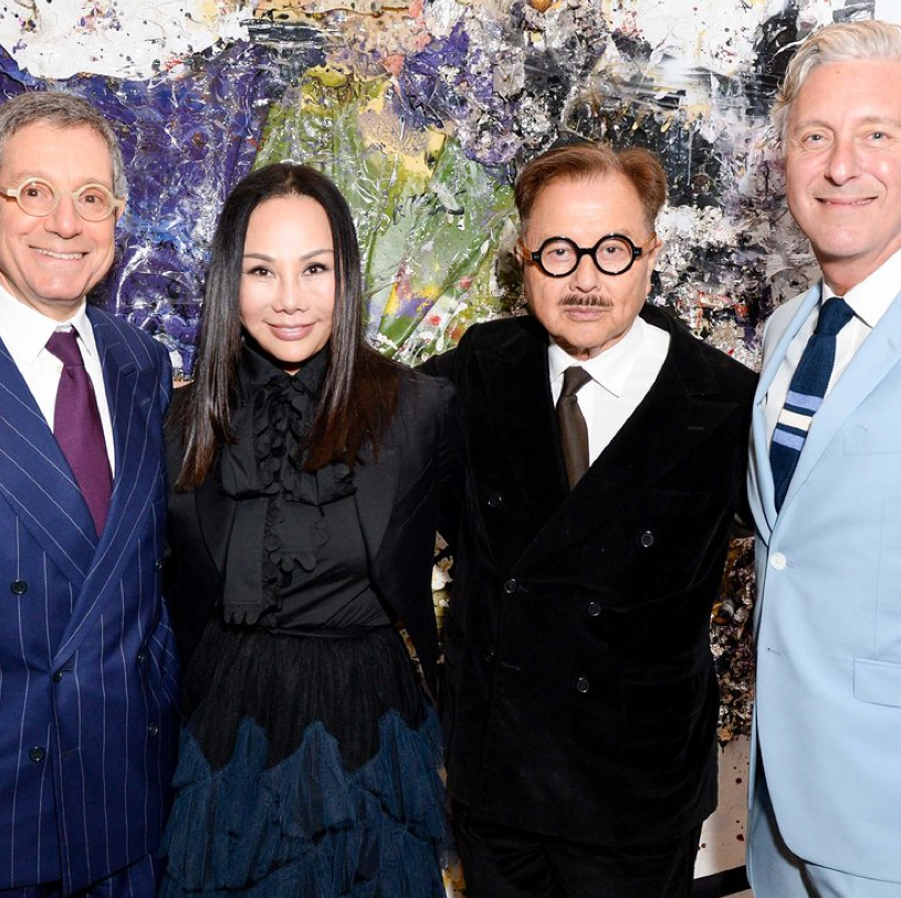Marina Abramovic, Tali Lennox, and the Chow Family Celebrate New York Academy of Art's Tribeca Ball