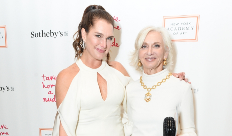 Brooke Shields, Naomi Watts, and More Come Out for Sotheby's Take Home a Nude Auction