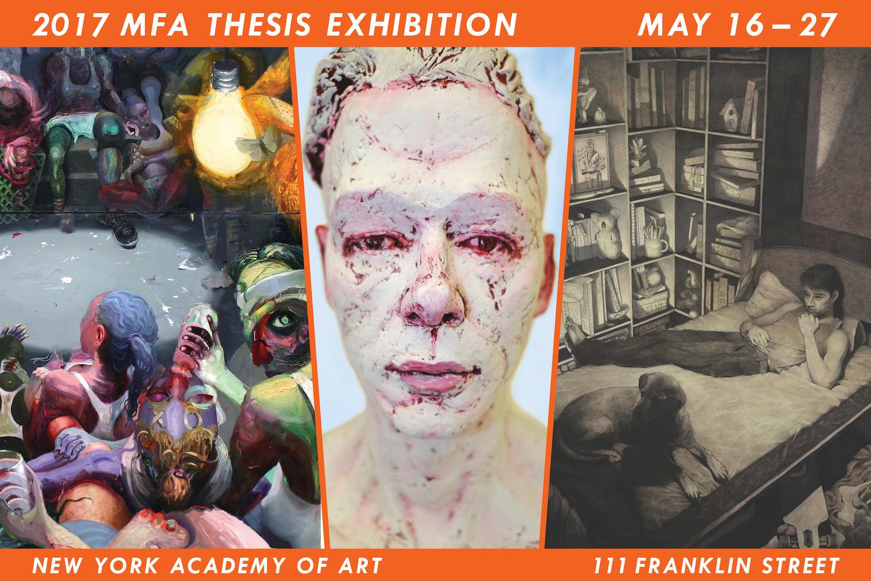 2017 MFA Thesis Exhibition
