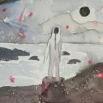 Kristy Gordon (MFA 2013) Sun, 2017 oil on canvas 9 x 12 inches