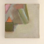 Madeleine Hines (MFA 2014) Orange Triangle, 2017 oil on linen 12 x 12 inches