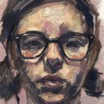 Maria Elena Manero (MFA 2018) Self-Portrait, 2016 oil on canvas 12 x 9 inches