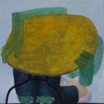Isaac Mann (MFA 2017, Fellow 2018) Weekday, 2017 oil on canvas 66 x 62 inches