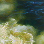 Livia Mosanu (MFA 2015) Ocean Composition 6 (Transience), 2015 oil on linen 63 x 41 inches