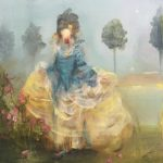 Susan Siegel (MFA 2010) Big Hair, 2017 oil on panel 8 x 8 inches
